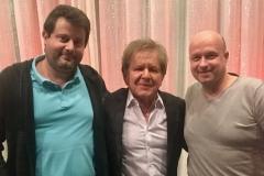 GG Anderson Sänger Mika und Tontecniker Michael
