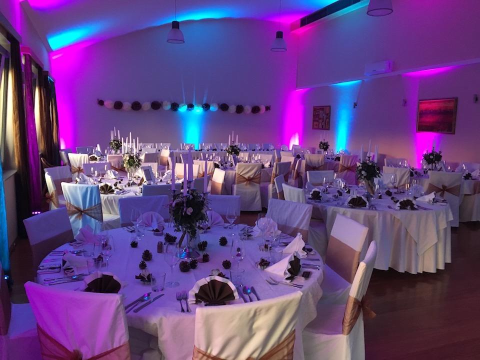 Ambiente Beleuchtung Hochzeit Party