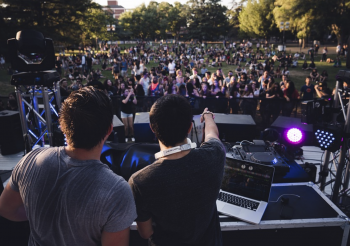 Hochzeitsband und DJ